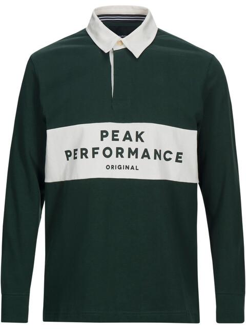 Peak Performance M's Rugby LS Shirt Pine Grove